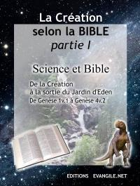 La Cr�ation selon la Bible